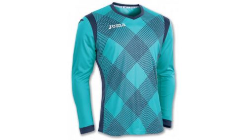 TRICOU PORTAR  DERBY TURQUOISE L/S