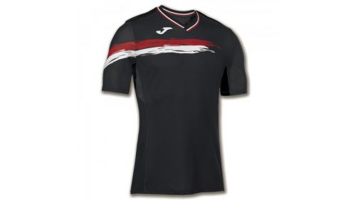 TRICOU TENIS PICASHO BLACK-RED S/S