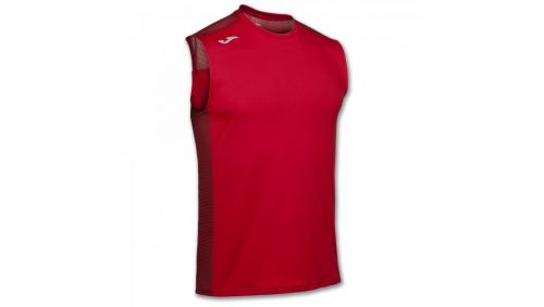 TRICOU RUNNING RED SLEEVELESS