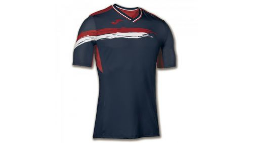 TRICOU TENIS PICASHO NAVY-RED S/S
