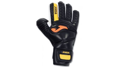 GOAL KEEPER GLOVES AREA BLACK-YELLOW