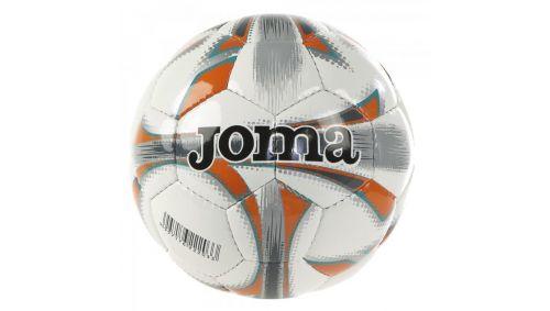 DALI SOCCER BALL WHITE-ORANGE T4
