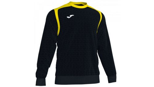 Swheatshirt CHAMPION V BLACK-YELLOW