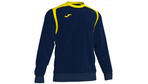 Swheatshirt CHAMPION V DARK NAVY-YELLOW