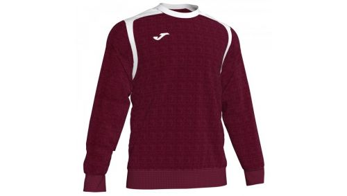 Swheatshirt CHAMPION V BURGUNDY-WHITE