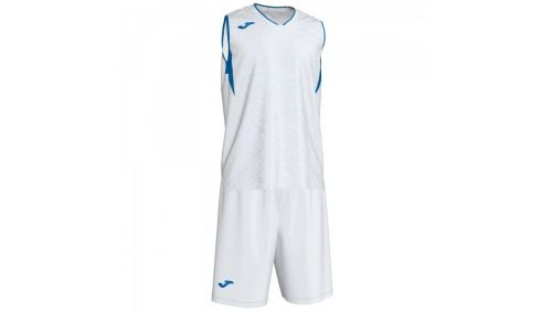 CAMPUS SET BASKET WHITE-ROYAL SLEEVELES