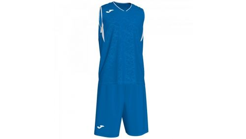 CAMPUS SET BASKET ROYAL-WHITE SLEEVELES
