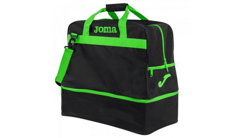 BAG TRAINING III BLACK-FLUOR GREEN -LARGE-