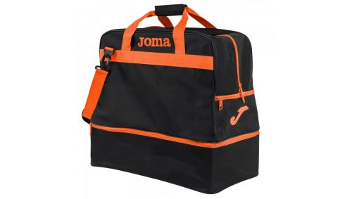 BAG TRAINING III BLACK-ORANGE -LARGE-