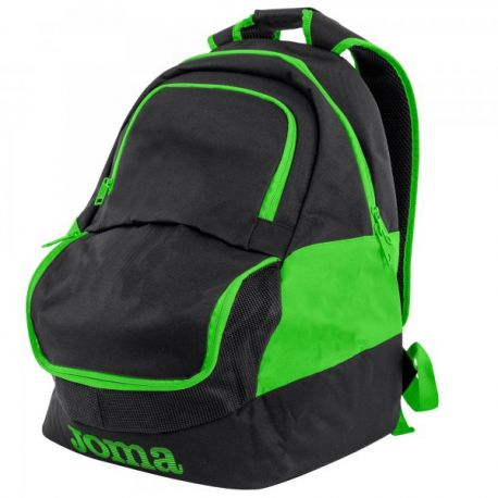 Rucsac DIAMOND II BLACK-FLUOR GREEN