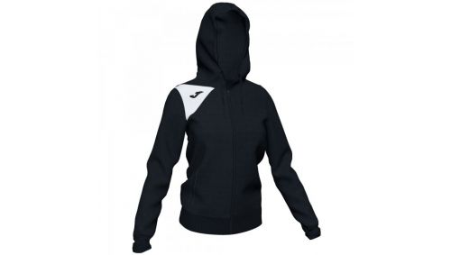 HOODED JACKET SPIKE II Dama BLACK-WHITE