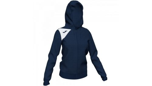 HOODED JACKET SPIKE II Dama DARK NAVY-WHITE