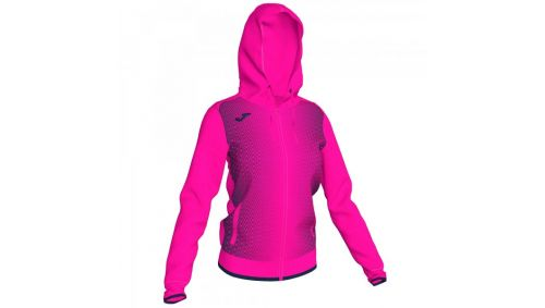 SUPERNOVA HOODED JACKET FLUOR PINK-DARK NAV