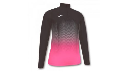 ELITE VII SWEATSHIRT BLACK-FLUOR PINK-WHITE