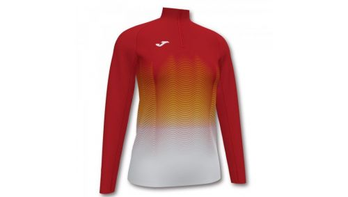 ELITE VII SWEATSHIRT RED-WHITE-YELLOW