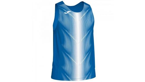 OLIMPIA T-SHIRT ROYAL-WHITE SLEEVELESS