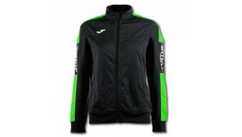JACKET CHAMPIONSHIP IV BLACK-FLUOR GREEN WOMAN