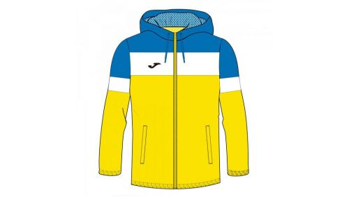 CREW IV RAINJACKET YELLOW-ROYAL