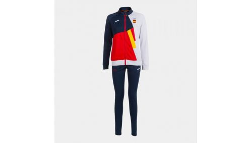 FREE TIME TRACKSUIT COE RED-NAVY WOMAN