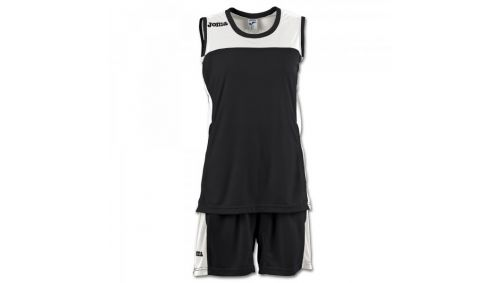 SET SPACE II WOMAN BLACK SLEEVELESS