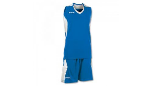 SET BASKET SPACE ROYAL-WHITE SLEEVELESS W.