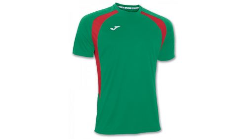 TRICOU CHAMPION III GREEN-RED S/S