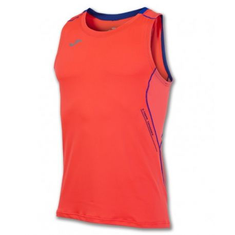 TRICOU RUNNING ORANGE SLEEVELESS