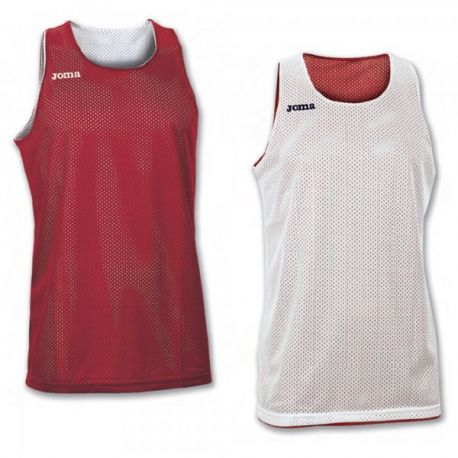 TRICOU REVERSIBIL  ARO RED-WHITE SLEEVELESS