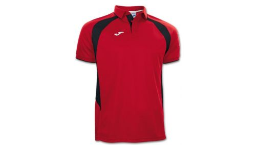 POLO CHAMPION III RED-BLACK S/S