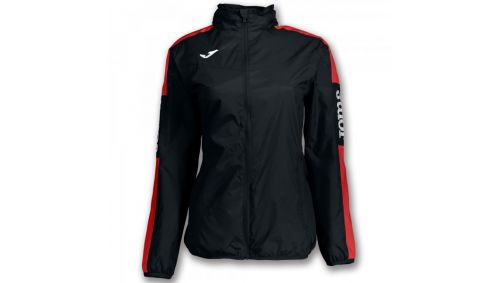 IMPERMEABIL CHAMPION IV BLACK-RED WOMAN