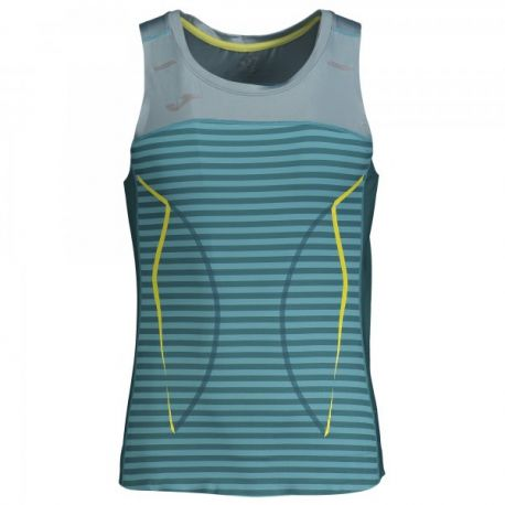 OLIMPIA III RUNNING SLEEVELESS SHIRT TURQUOISE