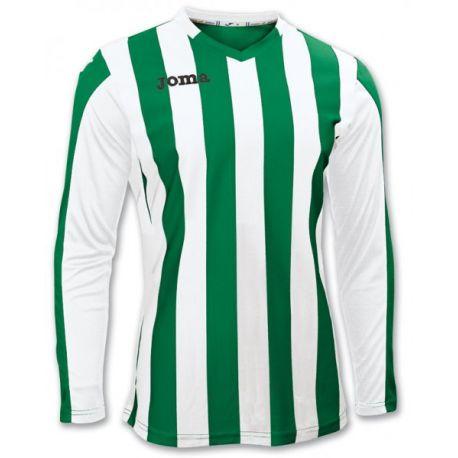 TRICOU COPA GREEN-WHITE L/S