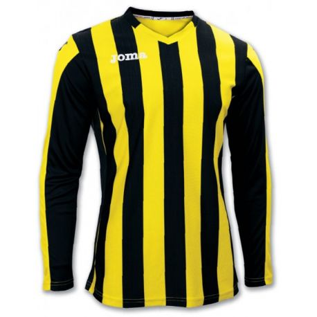 TRICOU COPA YELLOW-BLACK L/S