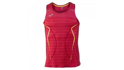 OLIMPIA III RUNNING SLEEVELESS SHIRT RED