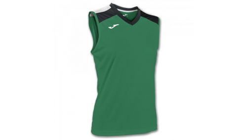 ALOE VOLLEY SHIRT GREEN-BLACK SLEEVELESS W.