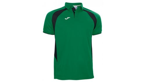POLO CHAMPION III GREEN-BLACK S/S