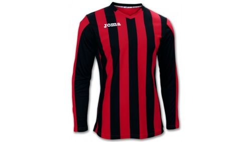 TRICOU COPA RED-BLACK L/S