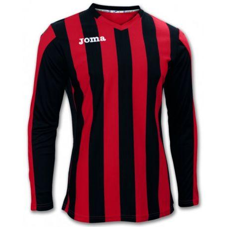 TRICOU COPA RED-BLACK L/S