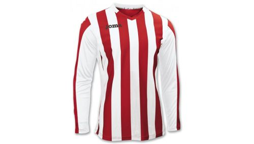 TRICOU COPA RED-WHITE L/S