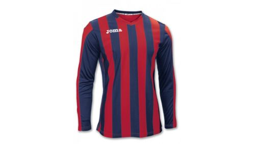 TRICOU COPA RED-NAVY L/S
