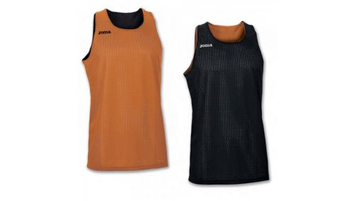 TRICOU REVERSIBIL  ARO ORANGE-BLACK SLEEVELESS