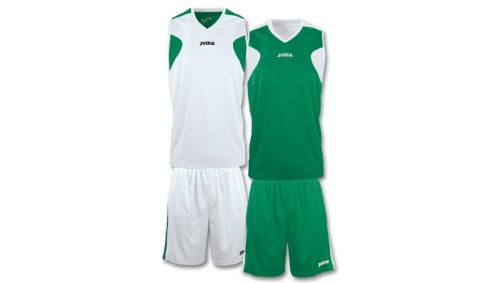 SET BASKET REVERSIBLE GREEN-WHITE