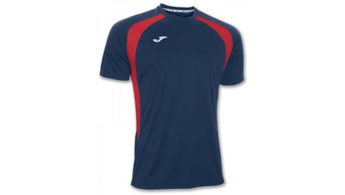 TRICOU CHAMPION III NAVY-RED S/S