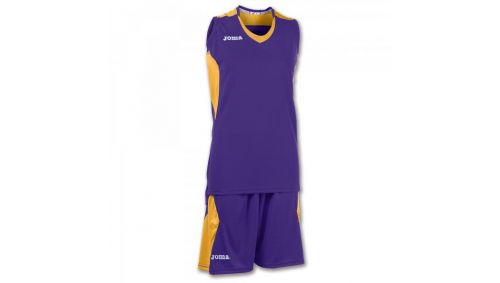 SET BASKET SPACE PURPLE-GOLD SLEEVELESS W.