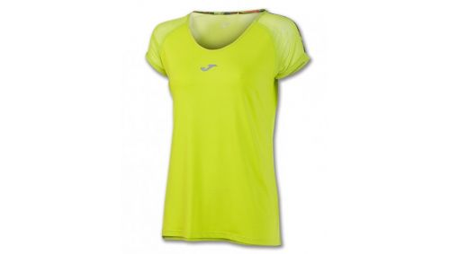 TRICOU RUNNING LIME S/S