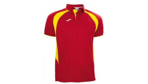 POLO CHAMPION III RED-YELLOW S/S