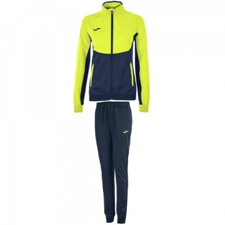TRENING ESSENTIAL MICRO NAVY-FLUOR YELLOW WOMAN