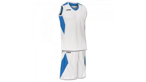 SET SPACE WHITE-ROYAL SLEEVELESS