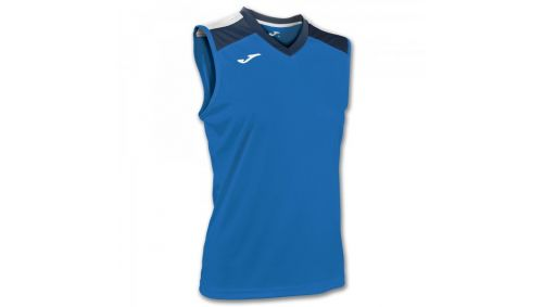 ALOE VOLLEY SHIRT ROYAL-NAVY SLEEVELESS W.
