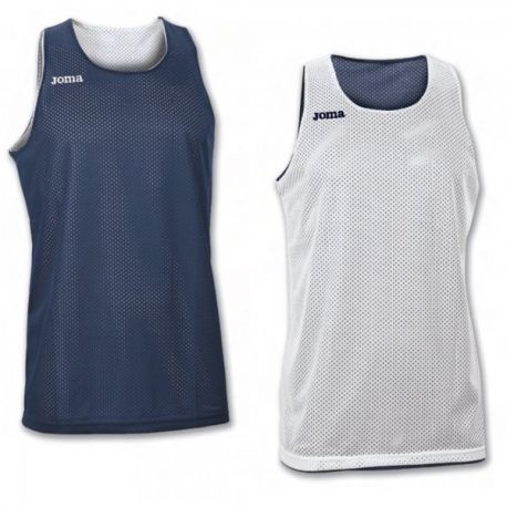 TRICOU REVERSIBIL  ARO NAVY-WHITE SLEEVELESS